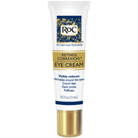 An excellent RoC cream with proven results is the RoC eye cream.