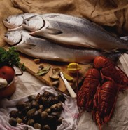 Cold water fish like salmon are excellent foods for anti aging.